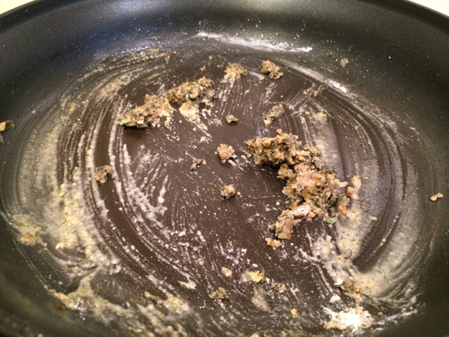 Spice mixture mixed into butter