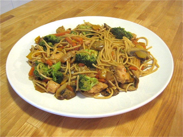 Chinese Stir Fry With Chicken