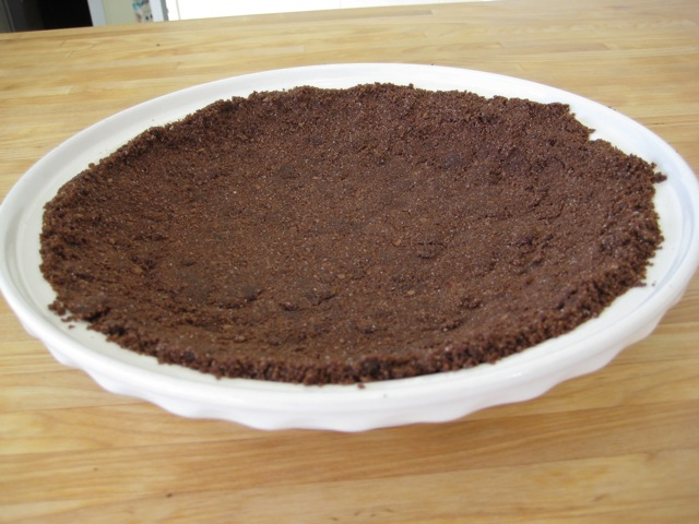 Chocolate Graham Cracker Pie Crust