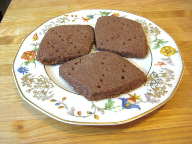 Chocolate Scotch Shortbread
