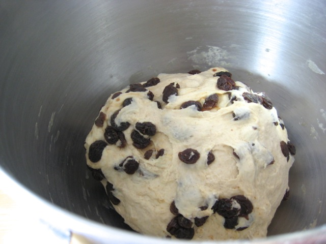Dough mixed
