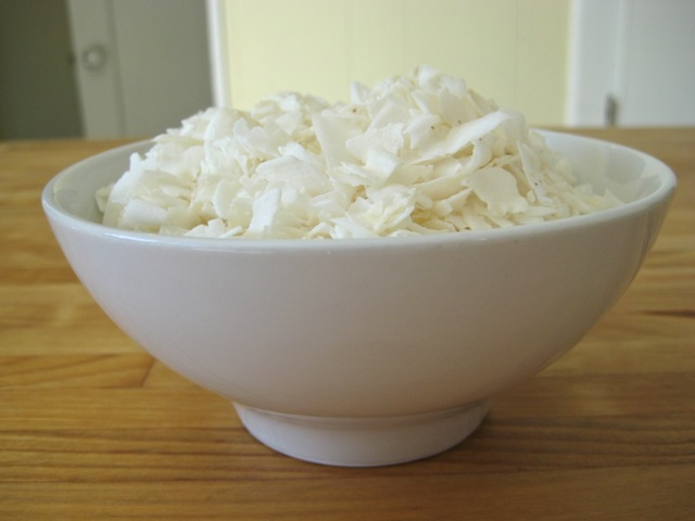 Shredded unsweetened coconut