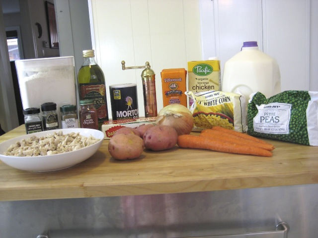 Ingredients for Double Recipe of filling
