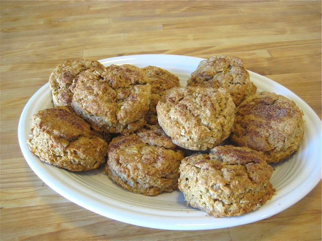 Oatmeal Apple Carrot Spice Scones