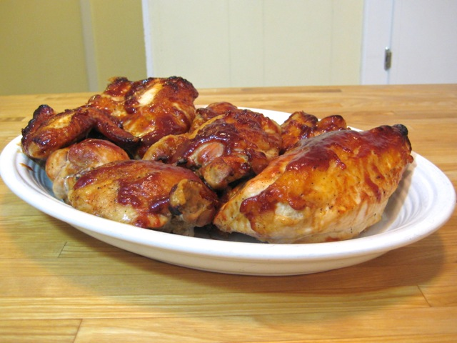 Oven Barbecued Chicken