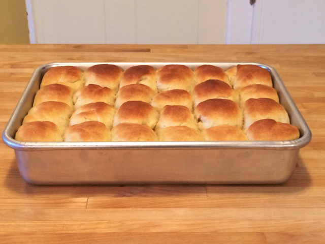 How To Shape and Bake Pan Rolls