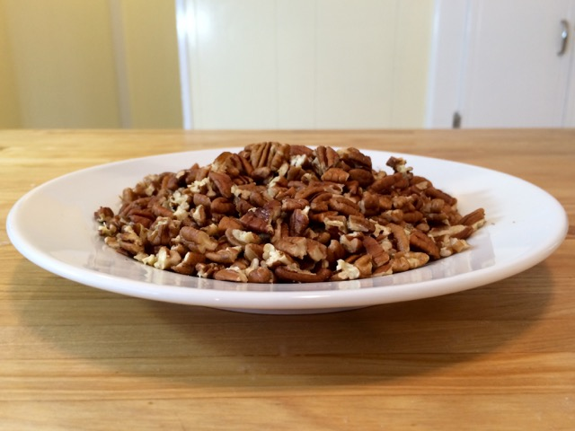 Pecans coarsely chopped