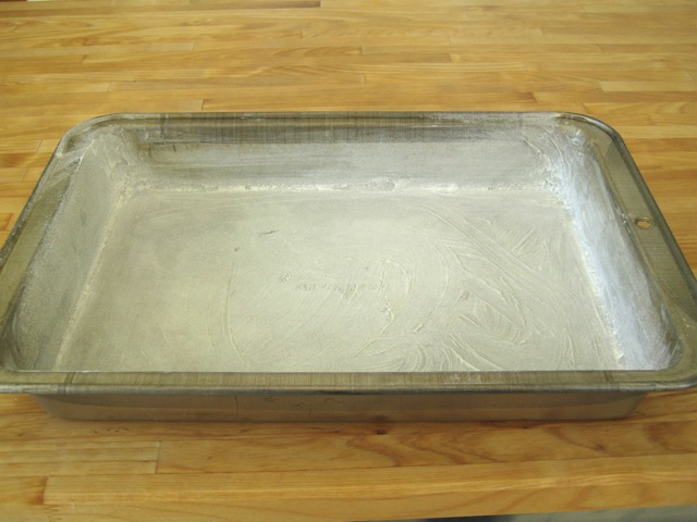 Preparing Cake Pans For Baking