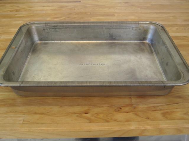 Preparing Cake Pans For Baking