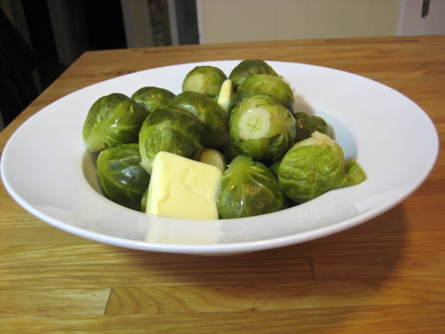 Steamed Brussels Sprouts