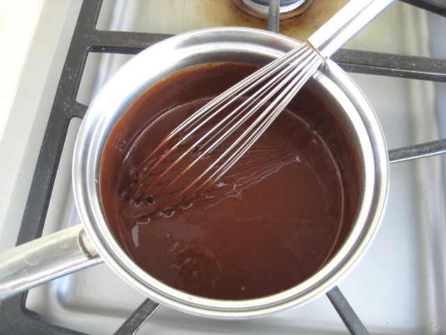 Chocolate whisked